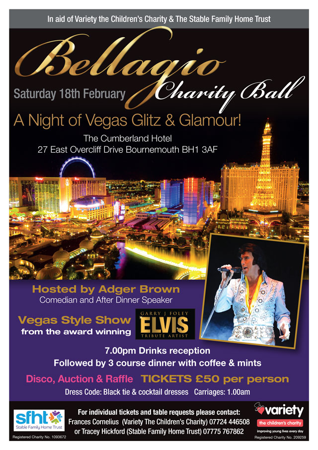 Bellagio Charity Ball