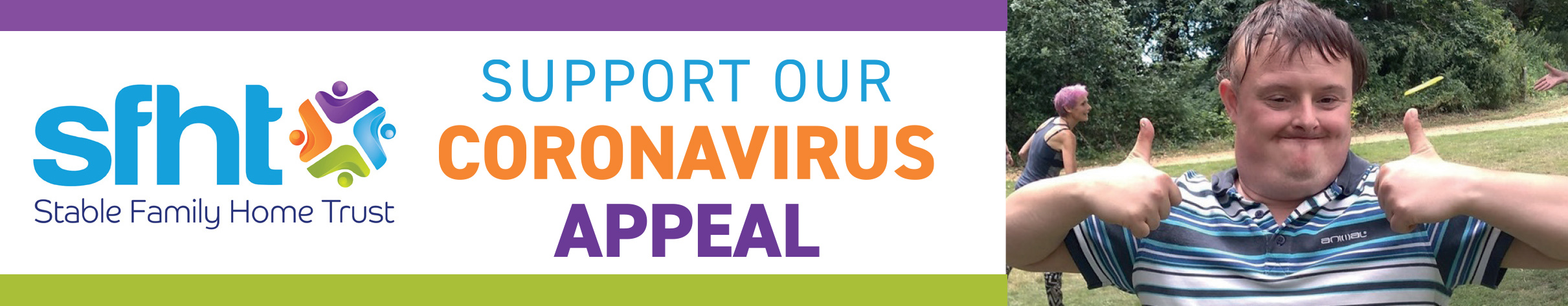 SFHT Covid Appeal banner 2